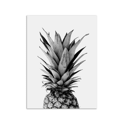 Pink Ananas Posters Plants Pineapple Wall Art Pictures Nordic Canvas Landscape Painting Modern Living Room Print Home Decoration
