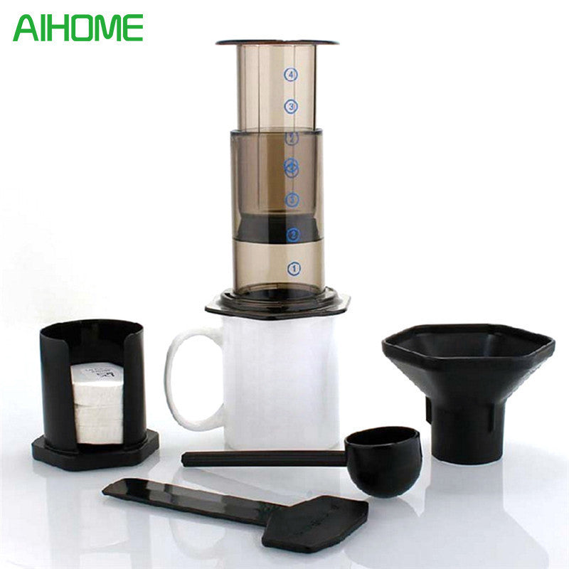 Portable Coffee Maker Coffee Press Pot Coffee Filter Coffee Machine  Paper Kitchen Set Supply