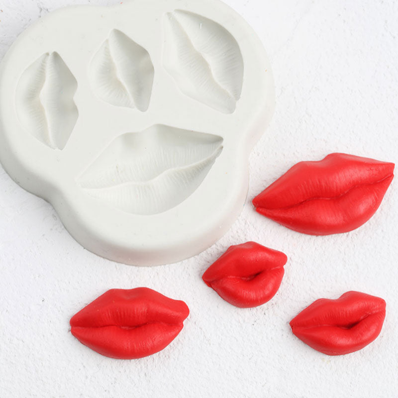 Sexy Lips Silicone Mold Fondant Mould Cake Decorating Tools Chocolate Gumpaste Molds, Sugarcraft, Kitchen Gadgets