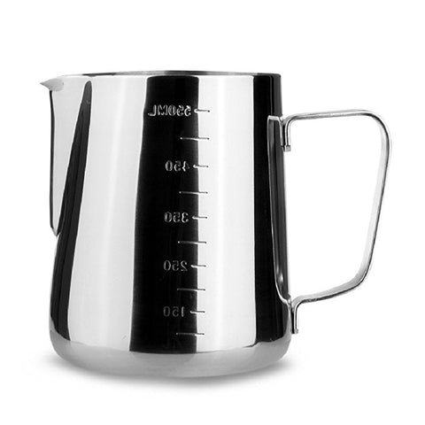 Image of Stainless Steel Milk frothing Jug Espresso Coffee Pitcher Barista Craft Coffee Latte Milk Frothing Jug Pitcher 350 600 1000ml