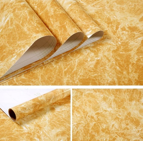 Vinyl Film Removable Self Adhesive Wallpaper for Kitchen Decor Shelf Liner Contact Paper for Cabinets Wall Stickers Home Decor