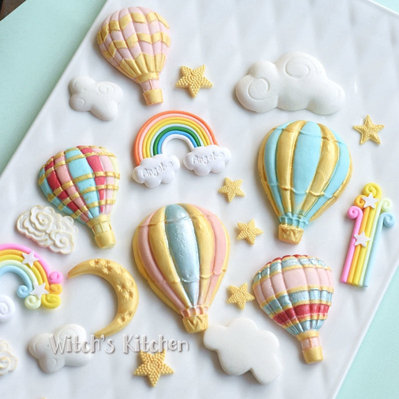 Yueyue Sugarcraft Balloon silicone mold fondant mold cake decorating tools chocolate gumpaste mold
