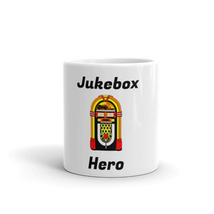 Jukebox Hero Coffee Mug, Ceramic