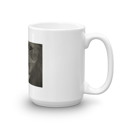 Bold Lion Coffee Mug, Ceramic