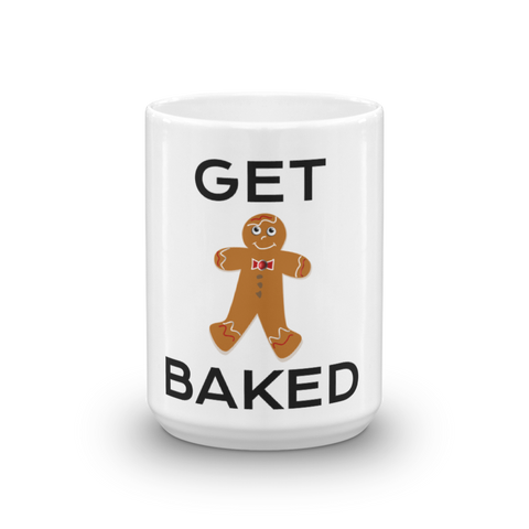 Image of Get Baked Coffee Mug, Ceramic