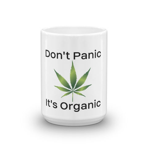 Don't Panic It's Organic Coffee Mug