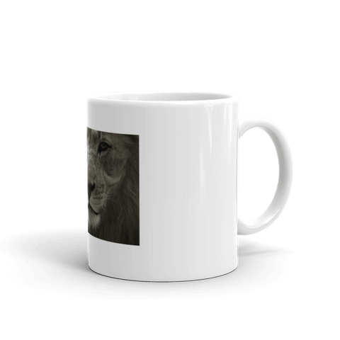 Image of Bold Lion Coffee Mug, Ceramic