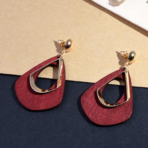 Women's fashion statement earring for wedding party gift