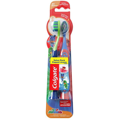 Colgate Toothbrush Kids 2Pk Pjmasks Extra Soft