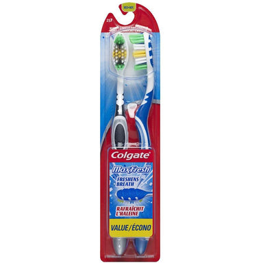 Colgate Toothbrush 2Pk Max Fresh Medium