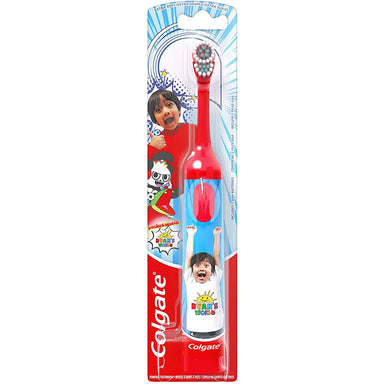 Colgate Powered T/B Kids Ryan'S World Extra Soft, Colours may vary