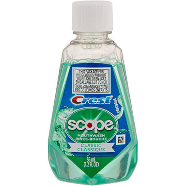 Scope Mouthwash W/ Crest Classic 36Ml