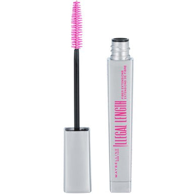 Maybelline New York Illegal Length Mascara, Blackest Black, 0.22 Fl Oz