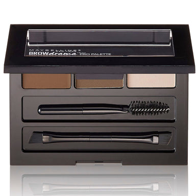 Maybelline New York Brow Drama Pro Eye Makeup Palette, Deep Brown, 0.1 Ounce