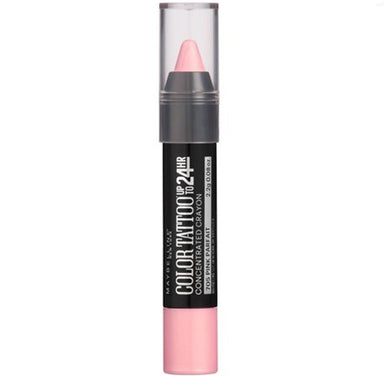 Maybelline New York Color Tattoo Concentrated Crayon, 705 Pink Parfait, 0.08 Oz