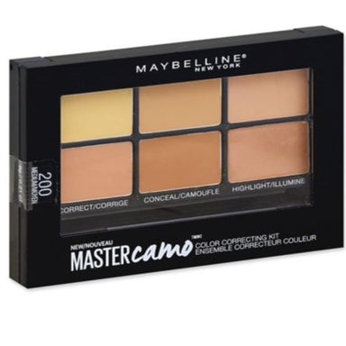 Maybelline New York Facestudio Master Camo Color Correcting Kits, 6 g
