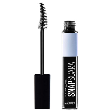 Maybelline New York Snapscara Washable Mascara, Pitch Black, 0.34 Fluid Ounce