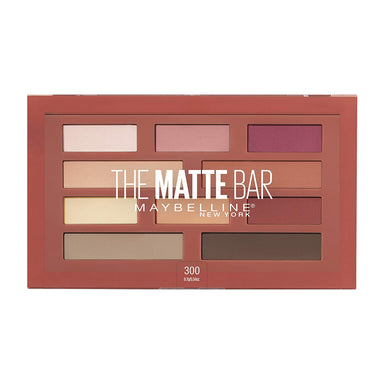Maybelline New York The Matte Bar Eyeshadow Palette Makeup, 0.34 Oz