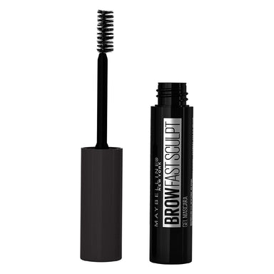 Maybelline Brow Fast Sculpt, Shapes Eyebrows, Eyebrow Mascara Makeup, Black Brown, 0.09 Fl; Oz