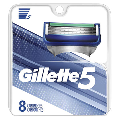 Gillette 5 8Ct Cartridges