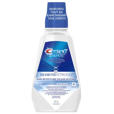 Crest 3D White, Diamond Strong, 946mL