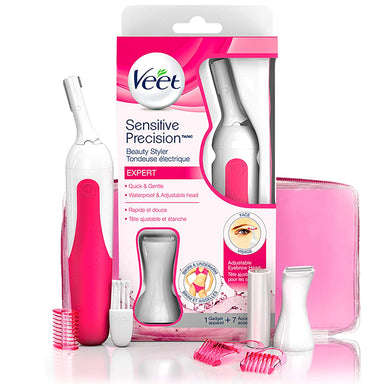 Veet, Sensitive Precision Beauty Styler Expert for Face, Bikini & Underarms