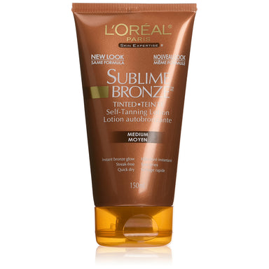 L'Oreal Paris Sublime Bronze Self Tanning Lotion Medium