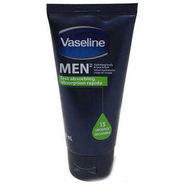 Vaseline Body & Face 60Ml Men Fast Absorbing Lotion