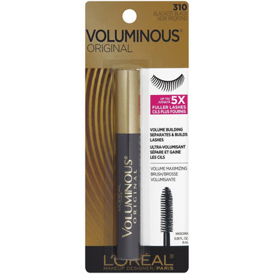 L'Oreal Paris Voluminous Original - Blackest Black #310 Mascara 0.28 fl oz
