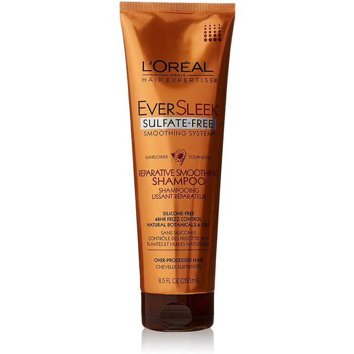 L'Oreal Paris Eversleek Sulfate-Free Color Smoothing System Reparative Smoothing Shampoo