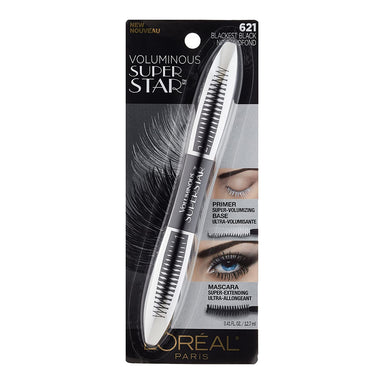 L'Oreal Paris Superstar Mascara Blackest Black, 12.7-Milliliters