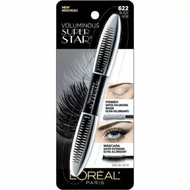 L'Oreal Paris Superstar Mascara Black, 12.7-Milliliters