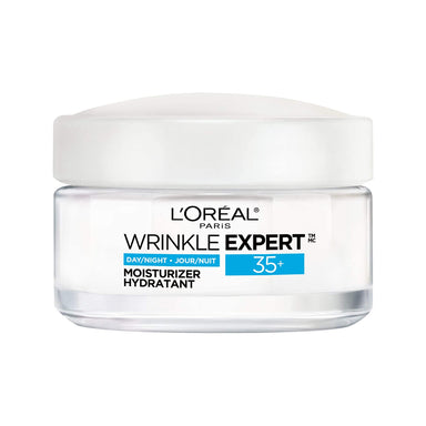 L'Oreal Paris Moisturizer Face Cream 35+ with Collagen, Day & Night Face Moisturizer | Wrinkle Expert