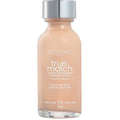 L'Oréal Paris True Match Super-Blendable Foundation N2 Classic Ivory