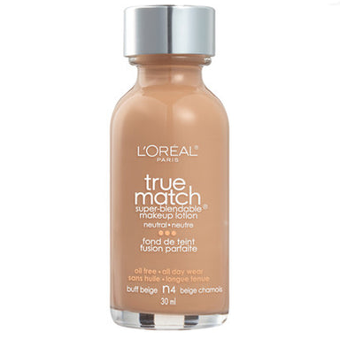 L'Oréal Paris True Match Super-Blendable Foundation N4 Buff Beige