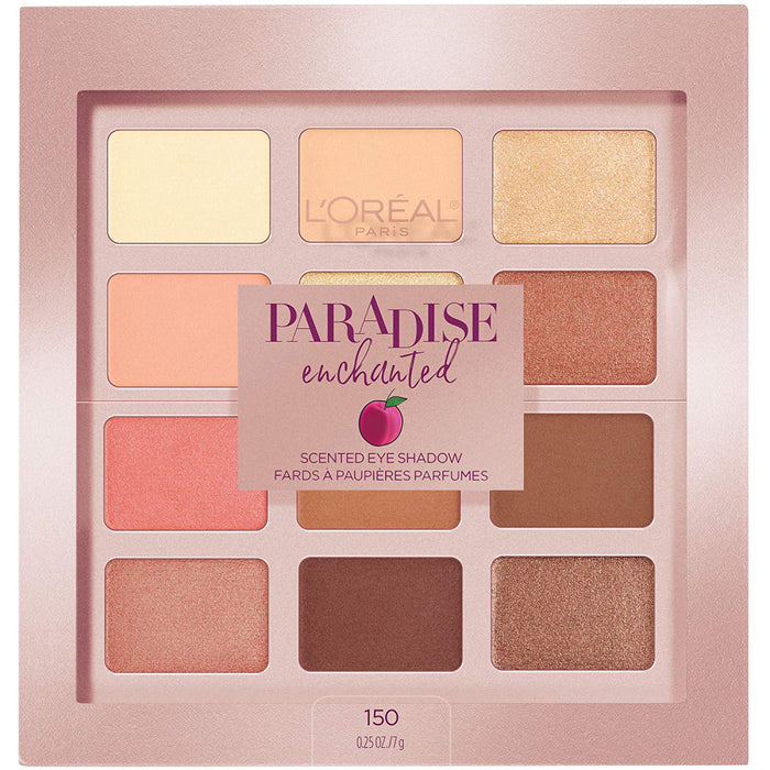 L'Oréal Paris Paradise Enchanted Scented Eyeshadow Palette, 0.25 fl. oz.