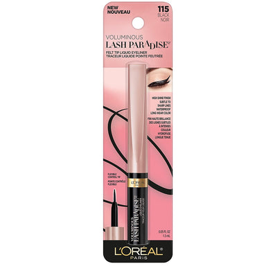 L'Oréal Paris Voluminous Lash Paradise Liquid Eyeliner Black - .05 fl oz