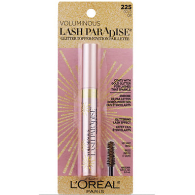L'Oreal Paris Voluminous Lash Paradise 225 gold Glitter Topper 8.0ml
