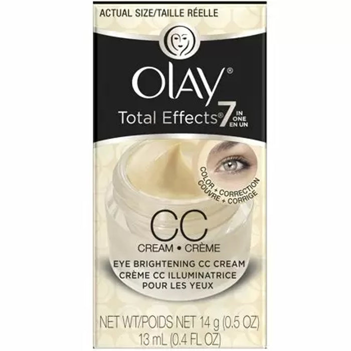 Olay Total Effects 7-in-1 Eye Brightening CC Cream, 0.4 Fl Oz