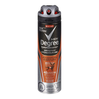 Degree Men Dry Spray Adventure Antiperspirant 107G