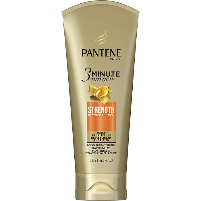 Pantene ProV 3 Minute Miracle Strength Reconstruction Daily Conditioner 180mL