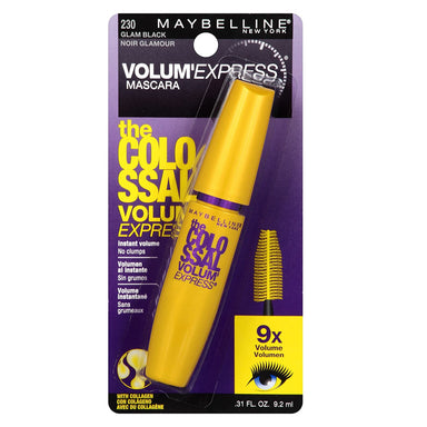 Maybelline The Colossal Volum' Express Mascara, Glam Black [230