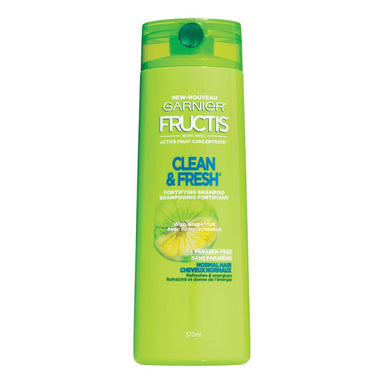 Garnier Fructis Pure Clean Shampoo with Grapefruit, 650 ml