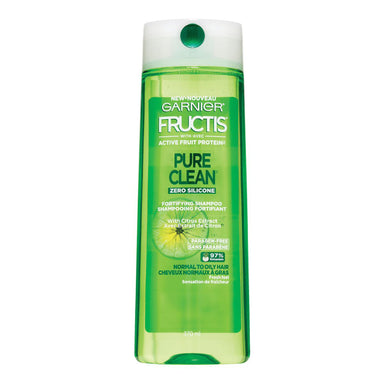 Garnier Fructis Pure Clean Shampoo with Citrus Extract, 12.5 oz.