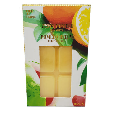 Life At Home Wax Melt Cubes, Zesty Pomelo