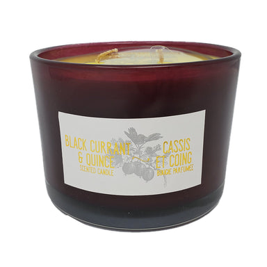 Life At Home Scented Candle, Black Currant & Quince