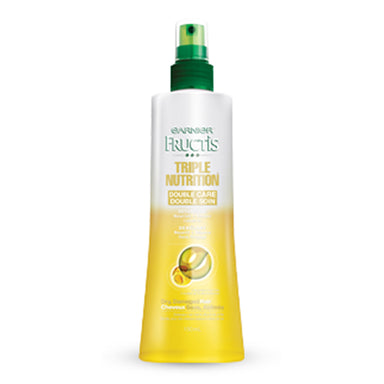 Garnier Fructis Triple Nutrition Double Care Detangling Spray, for Dry, Damaged Hair, 150 ml