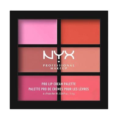 NYX Cosmetics Pro Lip Cream Palette