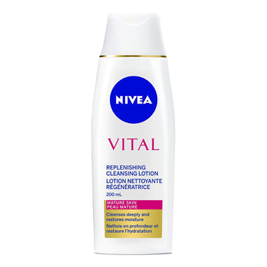 Nivea Vital Cleansing Lotion For Mature Skin, 200ml