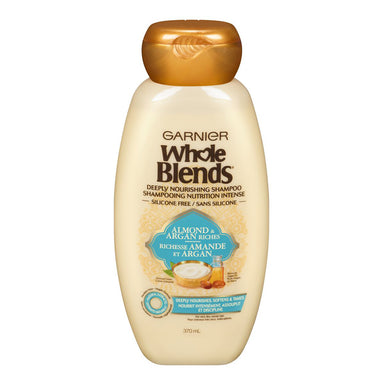 Garnier Whole Blends Deeply Nourishing Shampoo, 370 ml